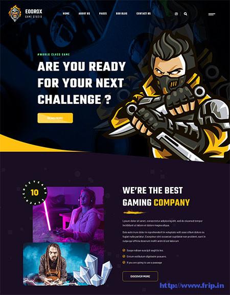 Eoorox-Gaming-&-eSports-Theme
