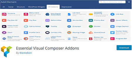 Essential-Visual-Composer-Addons