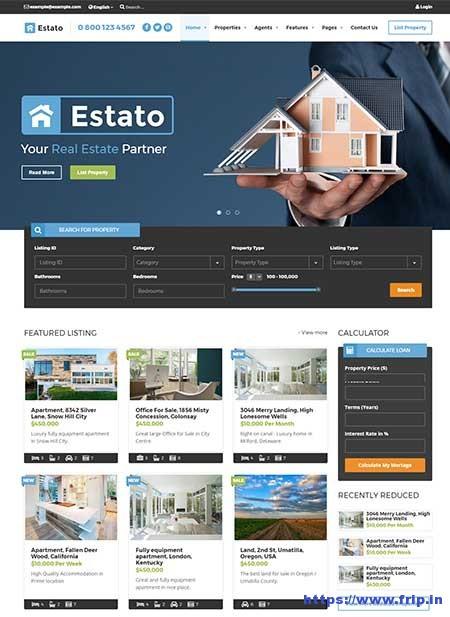 Estato-Real-Estate-&-Developers-Theme