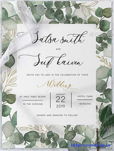Eucalyptus-Wedding-Invitation-template
