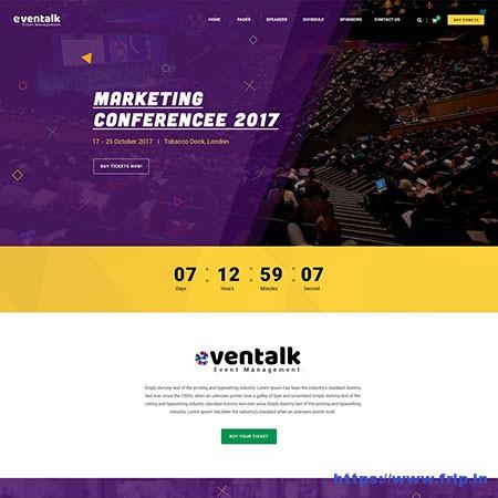 EvenTalk-Event-WordPress-Theme