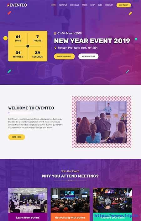 Eventeo-Event-WordPress-Theme