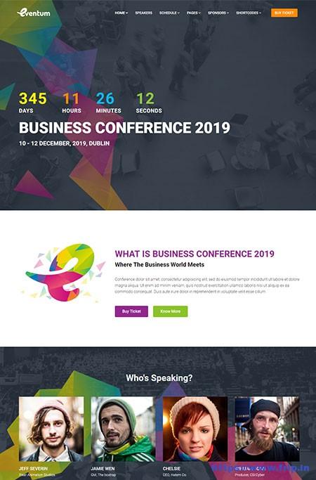 Eventum-Conference-&-Event-WordPress-Theme
