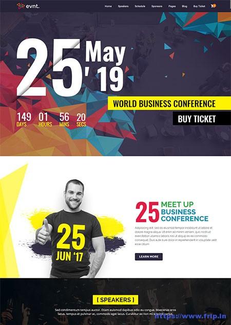 Evont-Event-WordPress-Theme