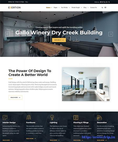 Exertion-Interior-Design-WordPress-Theme