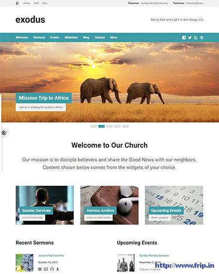 Exodus-Church-WordPress-Theme