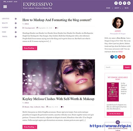Expressivo-WordPress-Blog-Theme