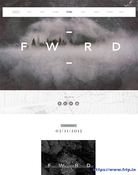 FWRD-Music-Band-WordPress-Theme