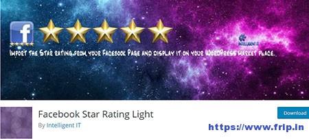 Facebook-Star-Rating-Light-Plugin