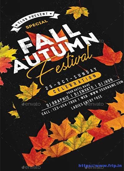 Fall-Autumn-Festival-Flyer