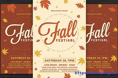 Fall-Festival flyer
