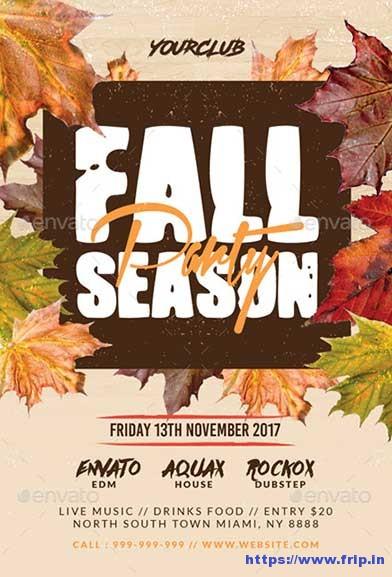 Fall-Season-Party-Flyer