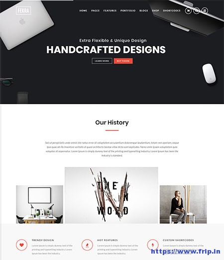 Fekra-Multipurpose-Website-Template