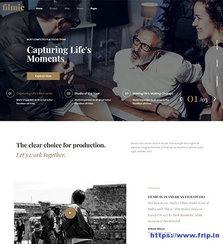 Filmic-Film-Maker-WordPress-Theme