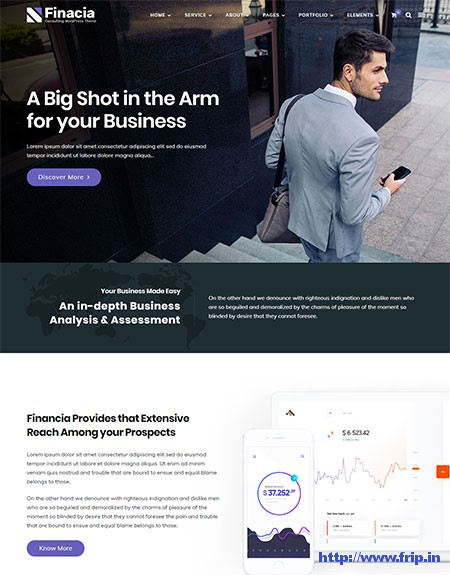 Finacia-Finance-&-Business-WordPress-Theme