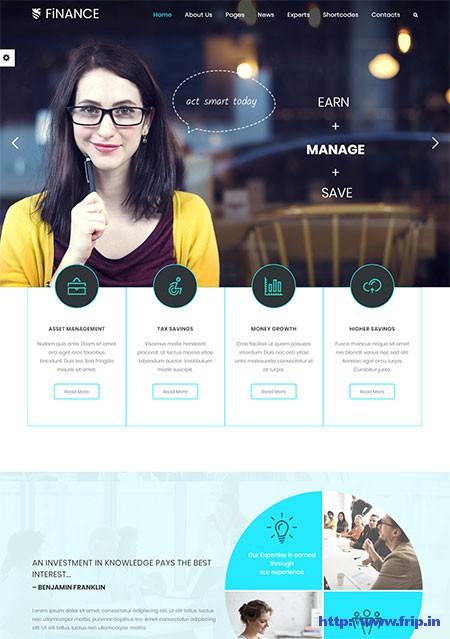 Finance-Consultant-WordPress-Theme
