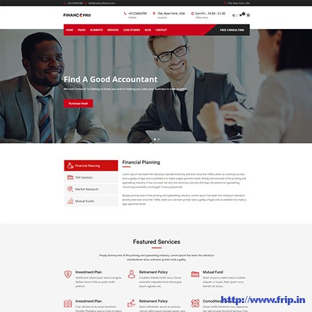 Finance-Pro-Business-&-Consulting-WordPress-Theme