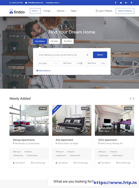 Findeo-Real-Estate-WordPress-Theme