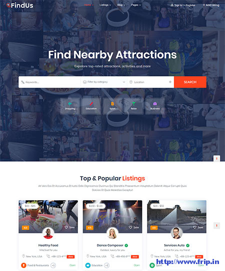 Findus-Directory-Listing-WordPress-Theme