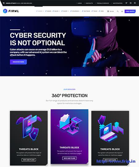 Firwl-Cyber-Security-WordPress-Theme