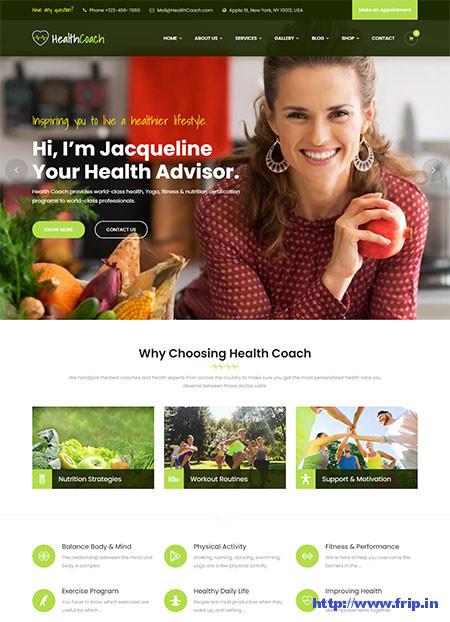 Fit-Coach-Health-&-Lifestyle-Theme