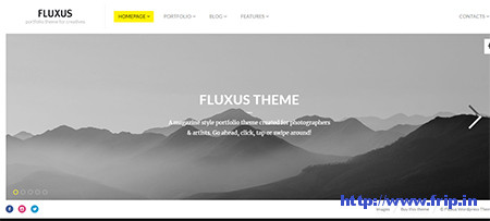 Horizontal Scrolling WordPress Themes