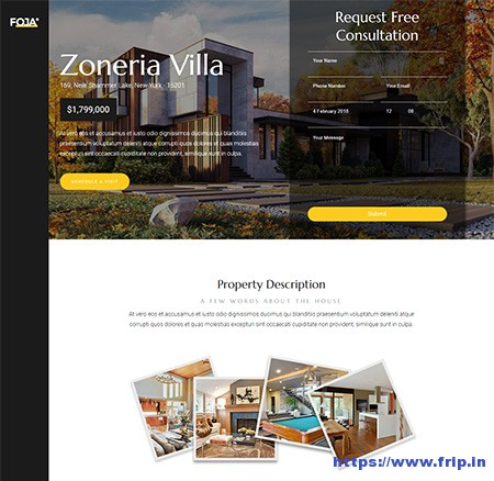 Foja-Single-Property-WordPress-Theme