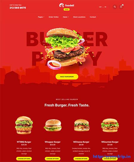 Foodeli-Food-Ordering-Theme