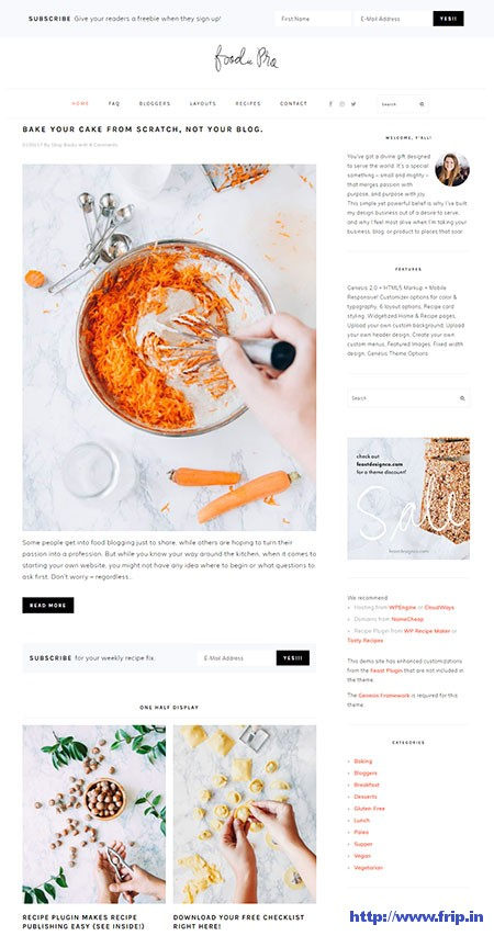 Foodie-Pro-WordPress-Theme