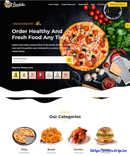 Foodota-Online-Food-Delivery-Theme