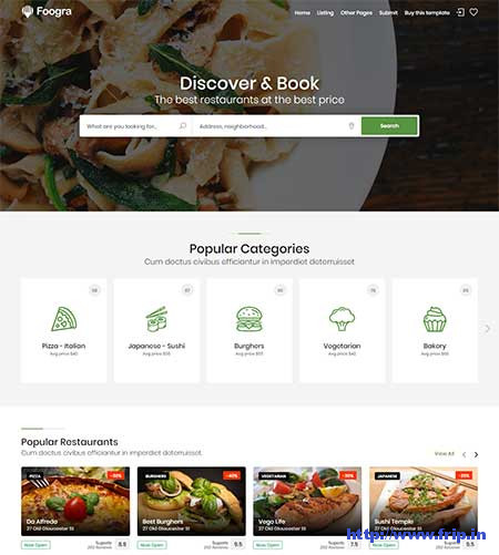 Foogra-Directory-&-Listing-Template