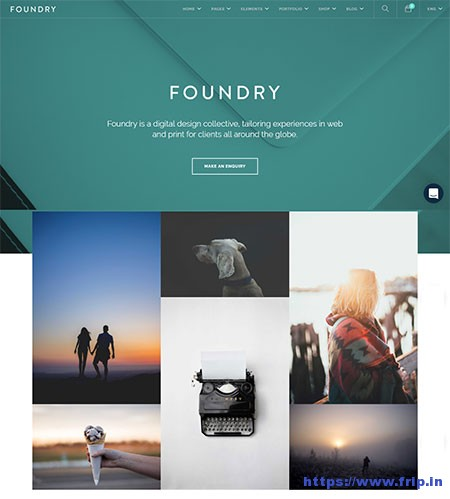 Foundary-Multipurpose-HTML-Template