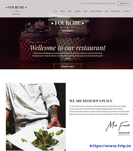 Fourche-Restaurant-&-Cafe-WordPress-Theme