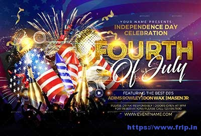Fourth-of-July flyer