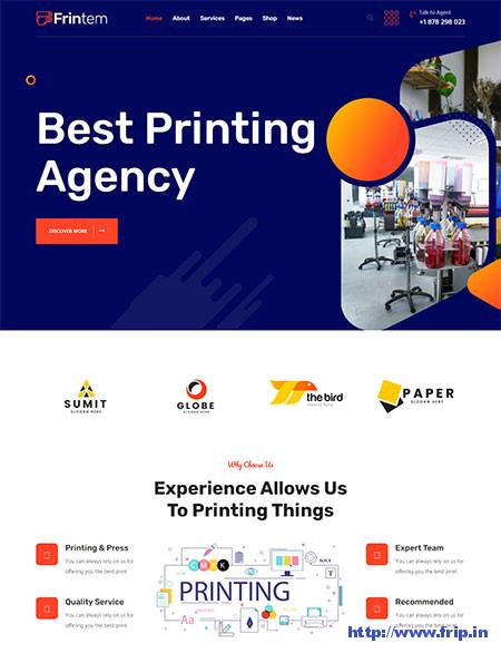 Frintem-Printing-Company-Theme