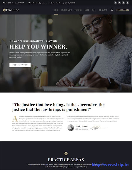 Frontline-Lawyer-WordPress-Theme