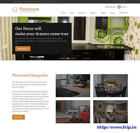 Furniture-Responsive-WordPress-Theme