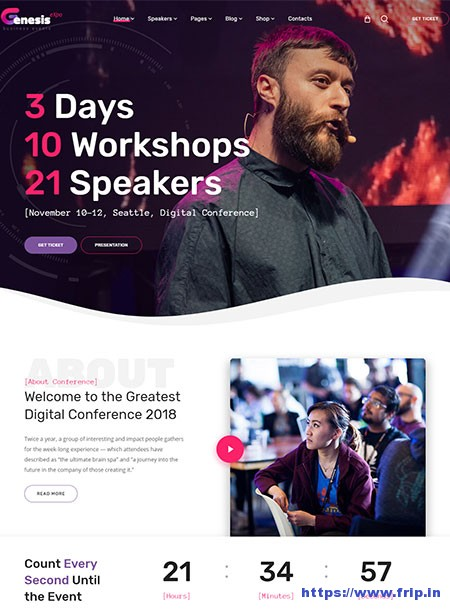 GenesisExpo-Event-WordPress-Theme