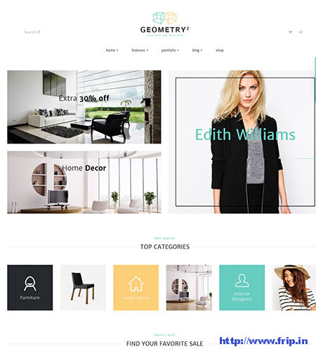 Geometry-Interior-Design-WordPress-Theme