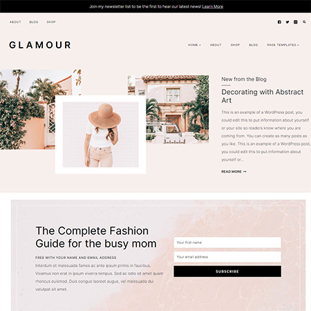 Glamour-Kadence-Child-Theme