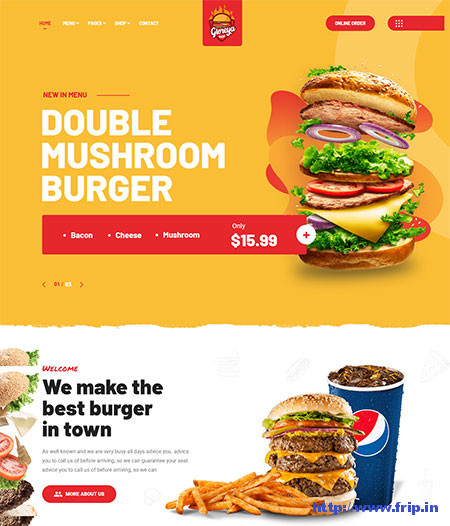 Gloreya-Fast-Food-Restaurant-Theme