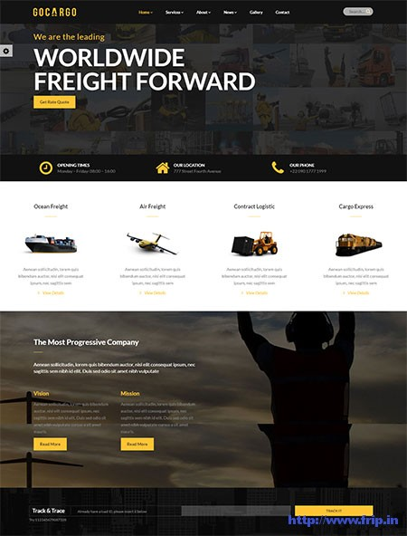 GoCargo-Logistics-&-Transportation-WordPress-Theme