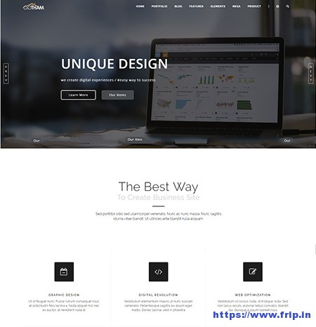GoTham-Multipurpose-Website-Template