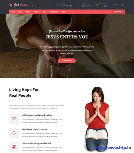 God-Grace-Church-WordPress-Theme
