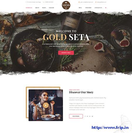 Gold-Seta-Cafe-PSD-Template