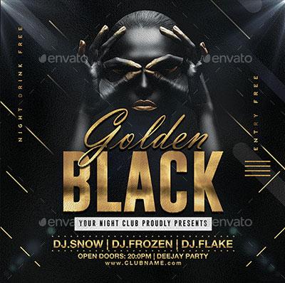 Golden-Black-Party-Flyer