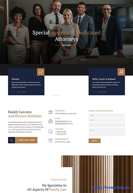 Goldenblatt-Lawyer-WordPress-Theme