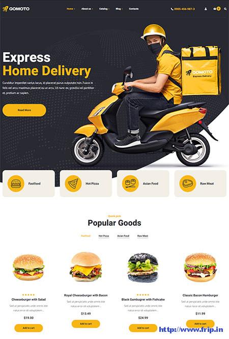 Gomoto-Food-Delivery-Theme
