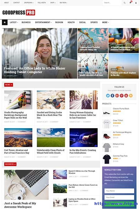 GoodPress-Magazine-WordPress-Theme