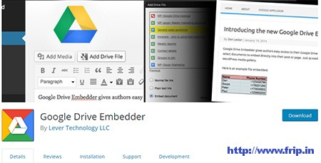 Google-Drive-Embedder-Plugin